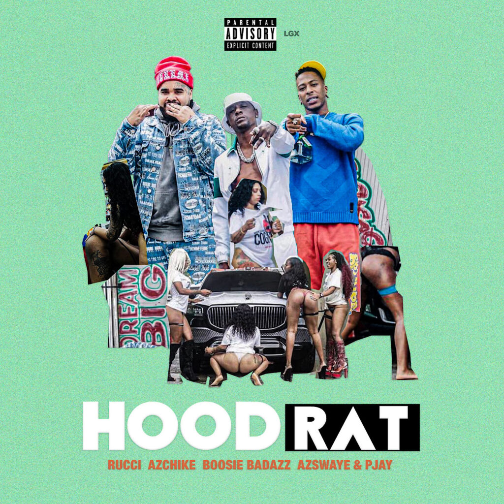"""L.A. Heavy-Hitters Rucci and AzChike Connect with Boosie on """"Hoodrat"""""""