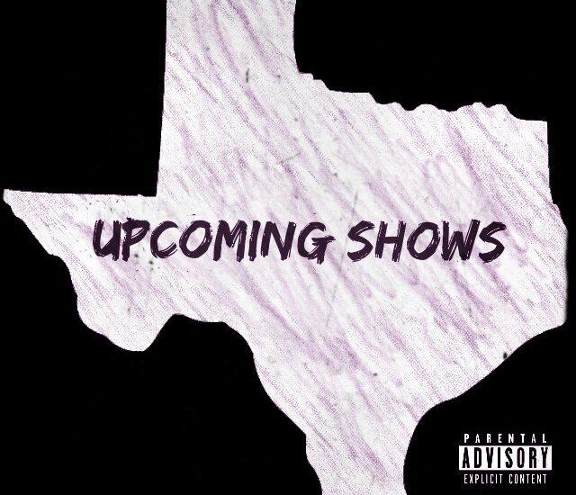 Upcoming Texas Shows Logo