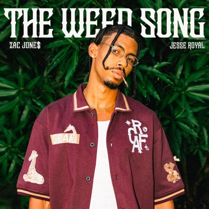 """ZAC JONE$ Teams Up With Jesse Royal on """"The Weed Song"""""""